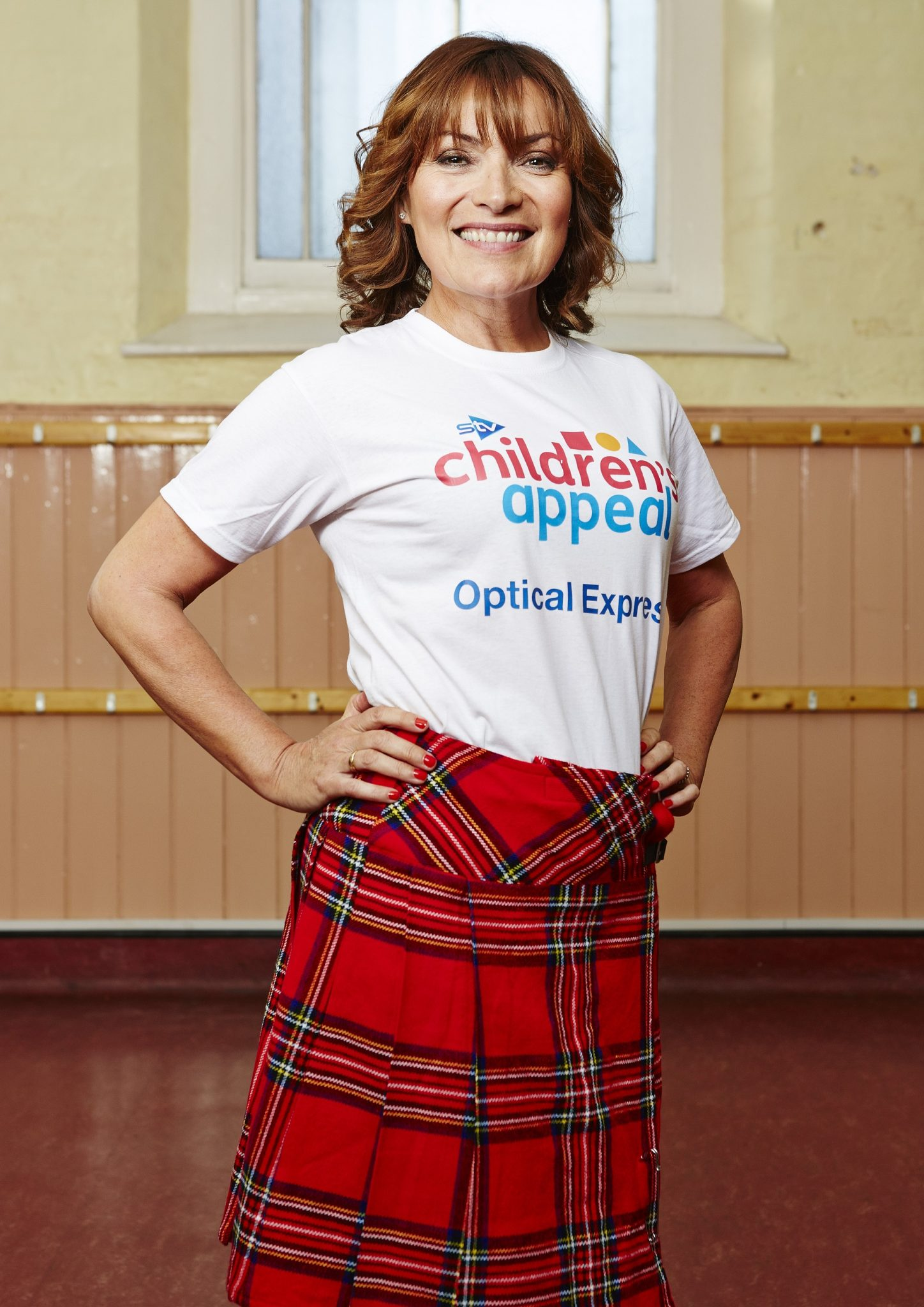 Optical Express joins with TV's Lorraine Kelly to raise funds for STV's Children's Appeal